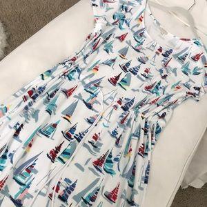 Talbots boat knit dress